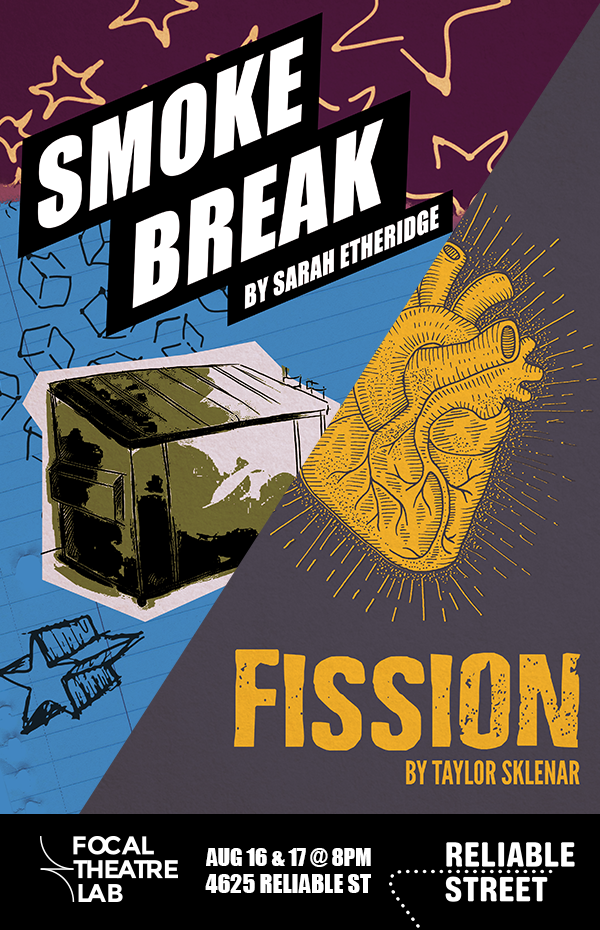 Poster for the combined event of Smoke Break and Fission